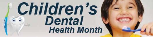 Children's dental health month pic